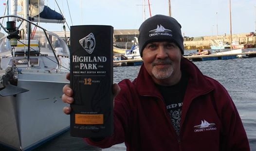 Win a Bottle of Highland Park at Westray Marina!